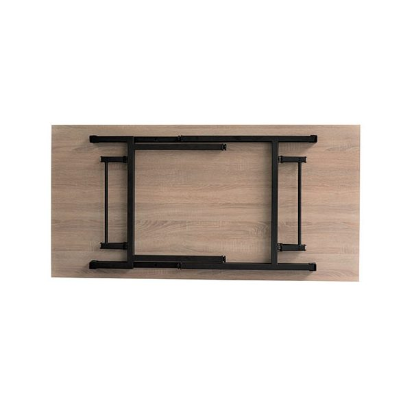 EC-H összecsukható asztal - rakásolható 160x80